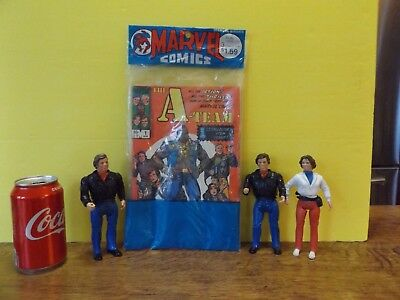 A-Team 1 2 3 Marvel Comics Retailer 3 Pack Polybagged Sealed 1984 Full Series C2