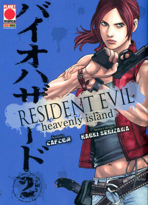 Planet Manga - Resident Evil Heavenly Island 2 - Nuovo !!!