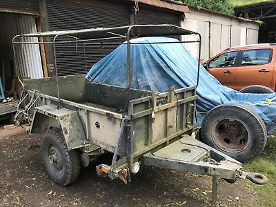Ex Mod Ex Army Sankey Missile Support Trailer 1Ton