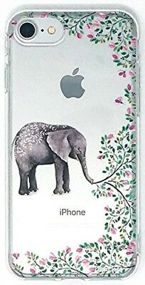 YogaCase InTrends Phone Case, Compatible with iPhone 6 / 6S (Elephant Flowers)