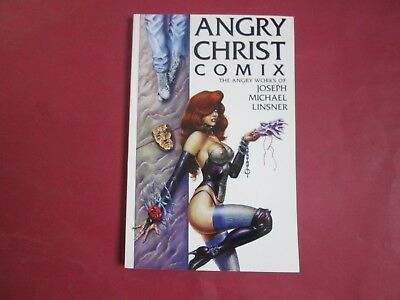 Angry Christ Comix With Bookplate Signed By Joseph Michael Linsner 1994 Nm