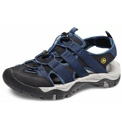 4f53e200ed09 ATIKA MEN S SPORTS Sandals Trail Outdoor Water Shoes 3Layer 10 D M Size Blue  -  42.00