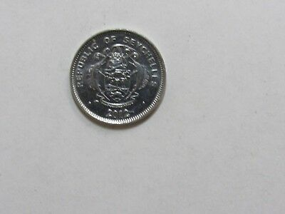 Seychelles Coin - 2012 25 Cents - Brilliant Uncirculated
