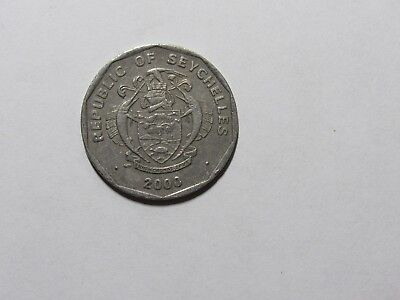Seychelles Coin - 2000 5 Rupees - Circulated