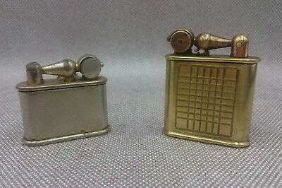 2x Briquet essence Nova vintage petrol lighter  汽油打火机 ガソリンライタ