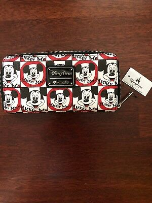 Disney Parks Loungefly Mickey Mouse Club Mousketeers Wallet NWT