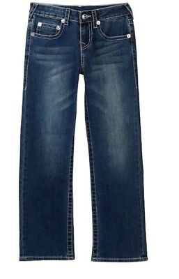 3243625ad Big Boys True Religion Geno Slim Straight Leg Jeans Laguna Blue Wash  TU999JN247