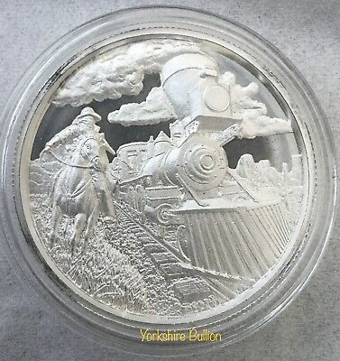 2 oz Silver Rounds The Beginning Lawless - Ultra High Relief .999 Fine Bullion