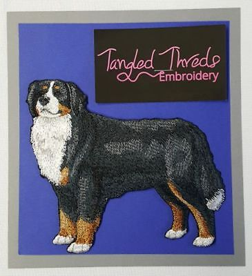 """Bernese Mountain Dog  Embroidered Patch """"6.7x5.8"""""""
