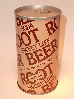 12oz Sweet Life Root Beer Pull Tab