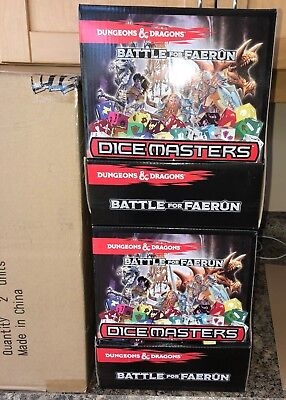 Dice Masters DUNGEONS AND DRAGONS 2-90 count Gravity Feed Boxes NEW