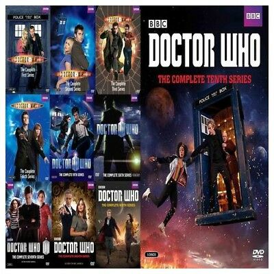 Doctor Who Complete Series Seasons 1-10 DVD NEW 55-Disc Set 1 2 3 4 5 6 7 8 9 10