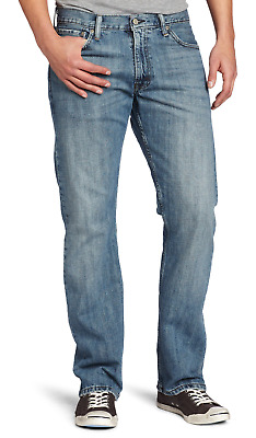 Genuine LEVIS 514 Straight Fit Mens Denim Jeans Blue PERFECT FOR SUMMER/HOLIDAYS