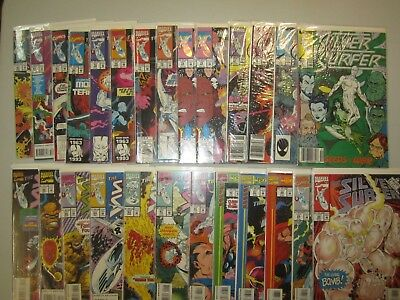 SILVER SURFER Lot of 29 Books! 6 7 12 17 75(2)-91, 93-97 Annuals 1, 6