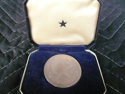 1958 Ghana 10 Shillings 84% Silver Star Large Coin INDEPENDENCE OF GHANA