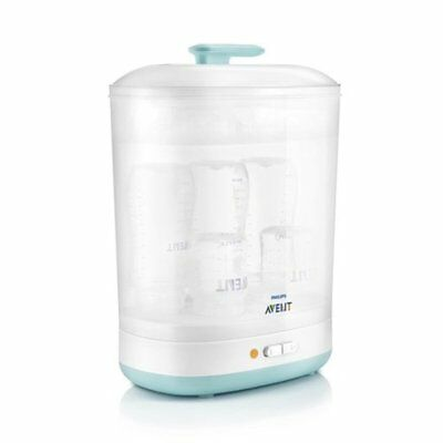 Philips Avent Steriliser 2-in-1 Electric Steam Steriliser Baby Bottle SCF922/01