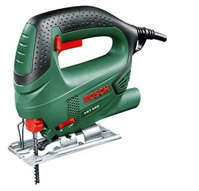 (TG. 65 mm) Bosch PST 650 Seghetto Alternativo Compact Easy, Nero/Green - NUOVO