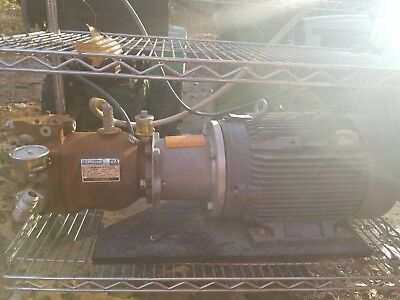Used hydraulic pump power unit