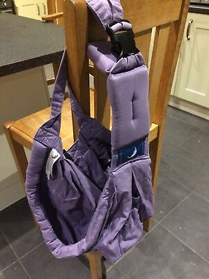 Lilac Baba Sling Baby Carrier 2 15kg 0 99 Picclick Uk