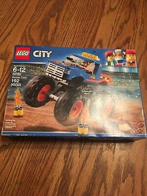 LEGO City Great Vehicles Monster Truck 60180 Building Kit 192 Piece Toy Kid