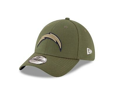 0df4c05b7 clearance los angeles chargers new era 2018 salute to service sideline  39thirty flex hat a5efb be62b