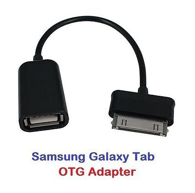 """30 Pin to USB Adapter OTG Cable for Samsung Galaxy Note 10.1"""" N8000 Tablet P1000"""