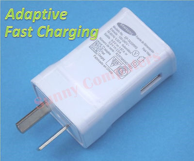 Samsung Adaptive Fast Charging Wall Charger Adapter 9V 1.67A or 5V 2A + Cable
