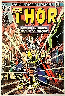 THOR #229 (1974)!  1st Appearance of Dweller-In-Darkness!!  Low Starting Bid!!