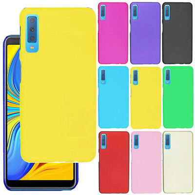 For Samsung Galaxy A7 2018 A750 New Frosted Shield Snap On Matte Hard Case Cover