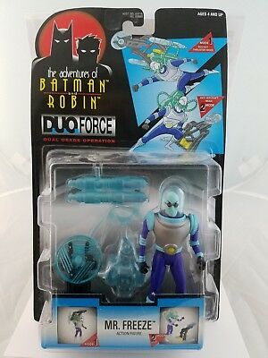 Batman and Robin Animated series Mr Freeze Action Figure New Kenner DC 1997