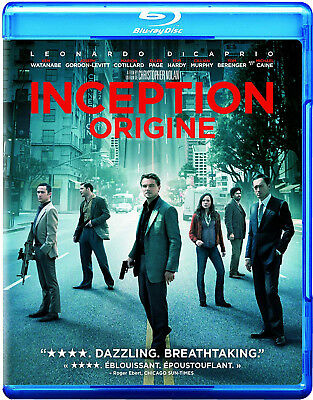 Inception (2 blu ray disc set, 2010)