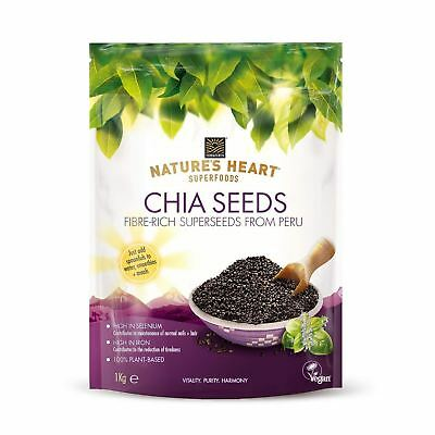 Natures Heart Chia Seeds 200g