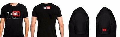 YouTube logo T-shirt (Personalized Custom) Your Channel broadcast Streamers Gift