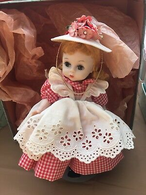 Vintage Madame Alexander Doll 1962 American Girl #388 Original Box.