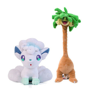 Pokemon Center Vulpix and Exeggutor Plush Doll Stuffed Toy Set of 2
