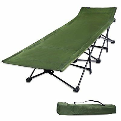 REDCAMP  Camping Cots for Adults, Easy and Portable Folding Cot Bed with Carry