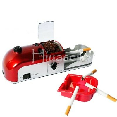 Cigarette Rolling Machine Electric Automatic Tobacco Roller Injector Maker 25W t