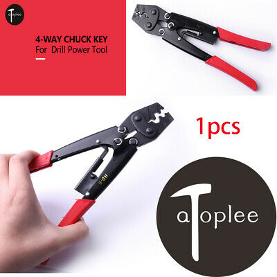 Electrician Cable Wire Crimping Crimper Hand Tool Pliers Ratchet Crimp HD-6