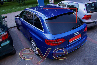 Audi A4 B8 8K Avant Estate Rear Roof Spoiler Rs4 Look