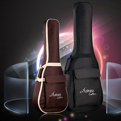 "Waterproof Folk Acoustic Gig Bag Case Strap Padded For 34/36/38/40/41"" Guitar"