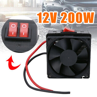 DC 12V 200W PTC Car Vehicle Heater Fan Temperature Heating Defroster Demister