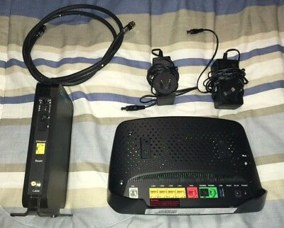 Optus Netgear Cable Modem and Sagemcom Wifi Router