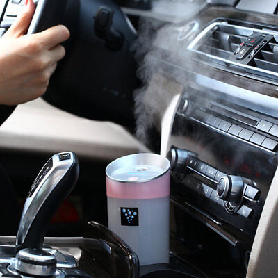 OUTAD 200ML Portable Travel USB Mini Ultrasonic Cool Mist Humidifier Car Home