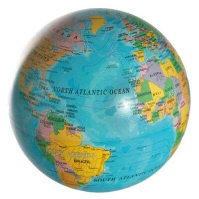 Rotary Earth Globe - Battery Operated Globe - Atlas World Geography