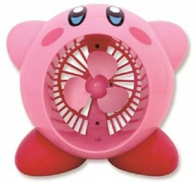 NEW TAITO Kirby Of The Stars USB Type Tabletop Fan A12 H160mm Game Otaku Japan