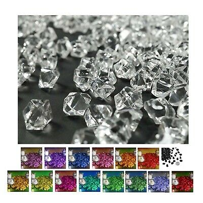 400 pcs  Mini Acrylic Ice Crystals Wedding Party Table Scatters Decorations