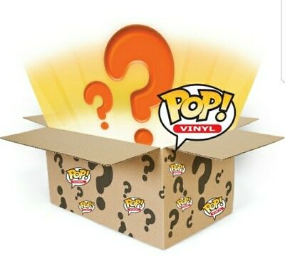 Mystery Funko Pop Lot....Rare, Vaulted, SDCC, NYCC, Chases, Commons, HTF!