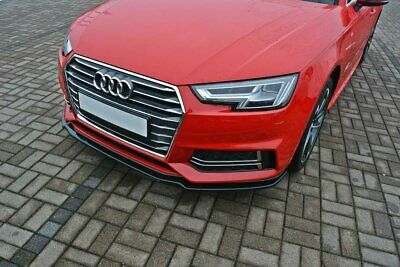 Cup Spoilerlippe V.1 Audi A4 B9 S-Line Carbon Look