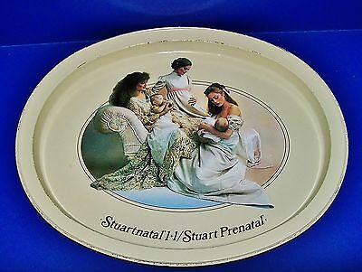 Vintage Oval Medical Tray Advertising