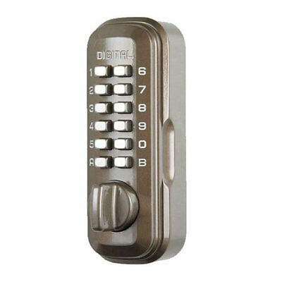 Lockey LY200 Digital Key Safe Brown